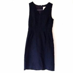 J. Crew V-Neck Sheath Dress